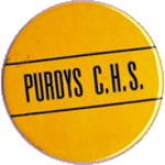 Purdys Central High Pin